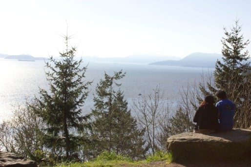 View on our drive home up Chuckanut