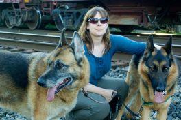 Kari and the dogs