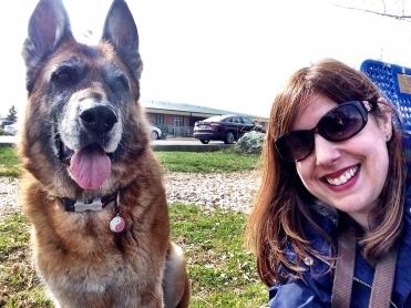 Selfie with my sidekick